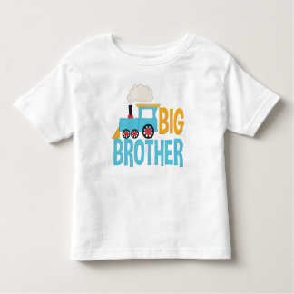 Blått för meddelande för storebrortågskjorta tshirts