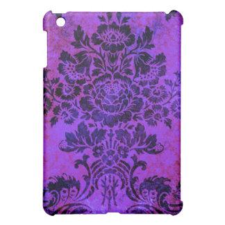 Blått för rosor för vintageblommönster iPad mini skydd