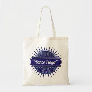 Blått för vintage för Bunco tillförseltärning Tygkasse