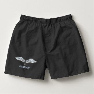Blått-grått vingar boxers