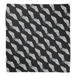 Blått-grått vingar scarf