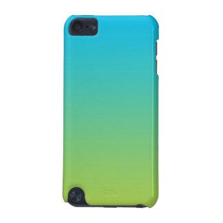 Blått & gröna Ombre iPod Touch 5G Fodral