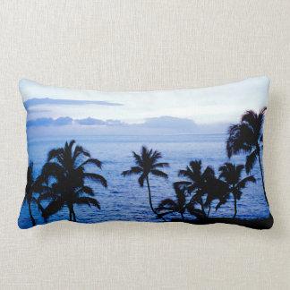 Blått Hawaii Lumbarkudde
