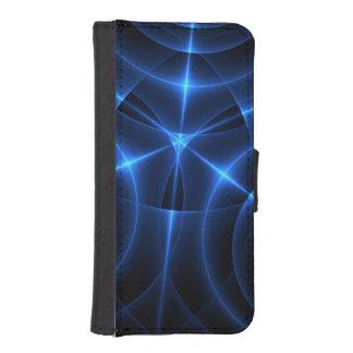 Blått konvergerar energi (plånboken) mobil plånböcker