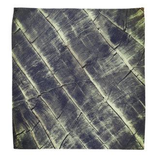 Blått målat trä bandana
