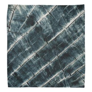 Blått målat trä scarf