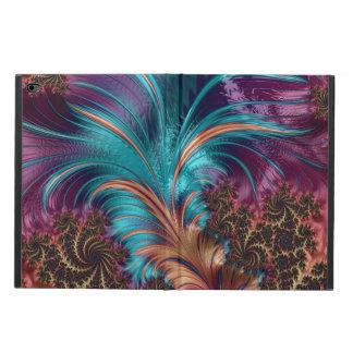 Blått och purpurfärgat dekorativt fodral för Ipad
