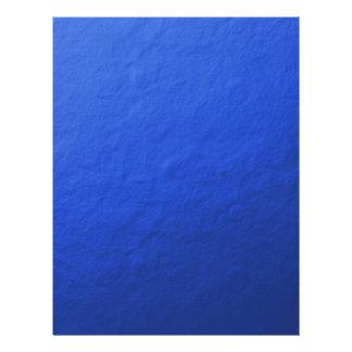 Blått omkullkastar utskrivavet reklamblad