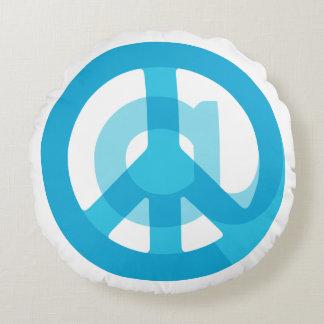 Blått@Peace undertecknar socialt massmedia på Rund Kudde