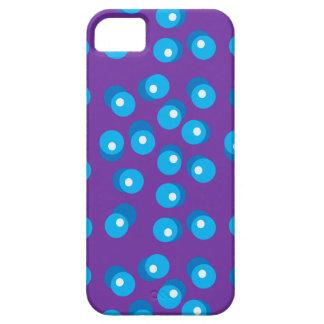 Blått pricker det mobila fodral iPhone 5 Case-Mate fodraler