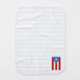 Blått: Puerto Rico flagga Bebistrasa