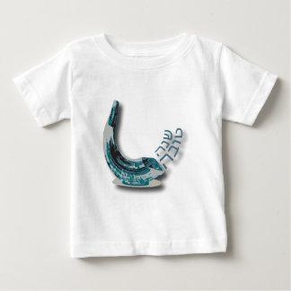 Blått Shofer Shana Tova Tee Shirts