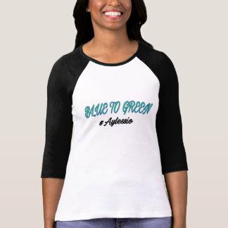 Blått som görar grön skjortan t shirt
