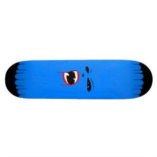 Blått spela vamp den beställnings- skateboarden skateboard bräda 19,5 cm