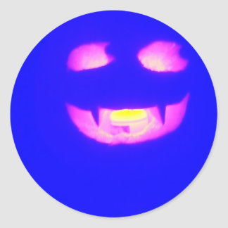 Blått spela vamp - klistermärken