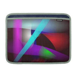 Blått tänder mörk sleeve för MacBook air