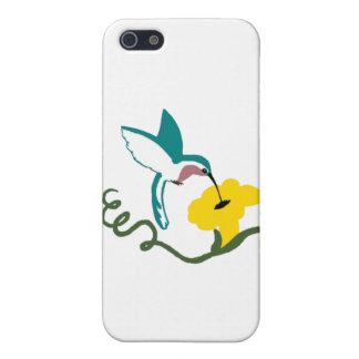 Blått- & vitHummingbird iPhone 5 Hud