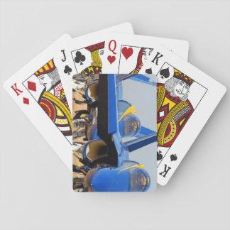 blåttÄNGLAR Spel Kort