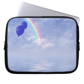 Blåttballonger Laptop Sleeve