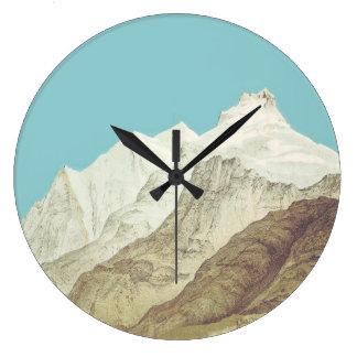 Blåttberg tar tid på stor klocka