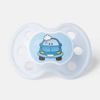 Blåttbilen med bubblar napp