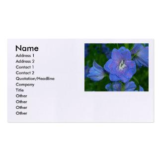 Blåttblomma Visitkort