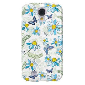 BlåttChamomiles Galaxy S4 Fodral