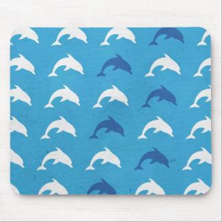 Blåttdelfiner Musmattor