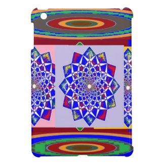 BLÅTTDIAMANTEN Chakra rullar blommaroyal iPad Mini Skal