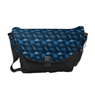 BlåttDinosaurmessenger bag Messenger Bag
