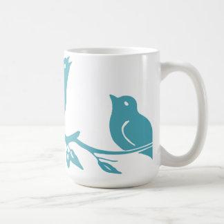 Blåttfågelmugg Kaffemugg
