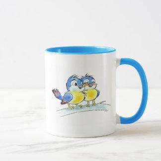 Blåttfåglar Mugg