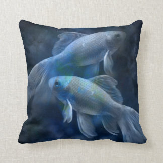 Blåttfisk Dekorativ Kudde