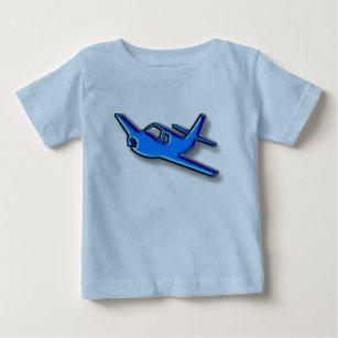 blåttflygplan t shirt