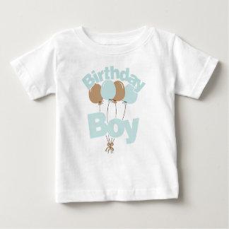 Blåttfödelsedagpojke T Shirts