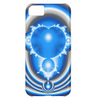 BlåttFractal iPhone 5C Fodral