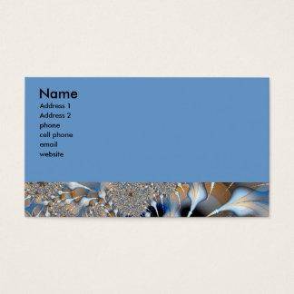 blåttfractal visitkort