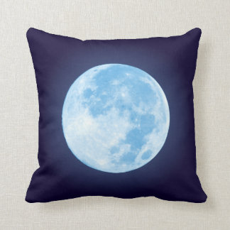 Blåttfullmåne Kudde