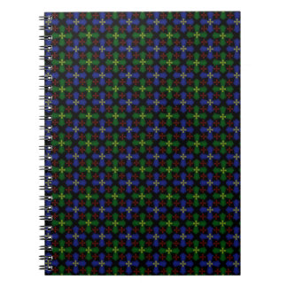 Blåttgröntkor Anteckningsbok