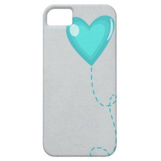 Blåtthjärta iPhone 5 Cover