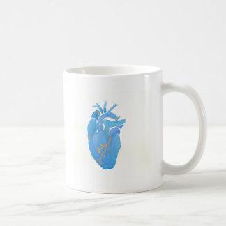 Blåtthjärta Kaffemugg