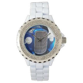 Blåtthot rodklocka armbandsur