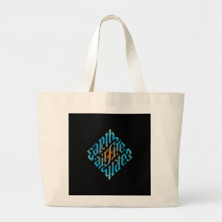 BlåttIlluminati symbol Jumbo Tygkasse