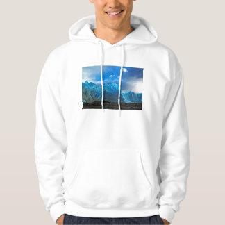 Blåttis - Perito Moreno Sweatshirt Med Luva