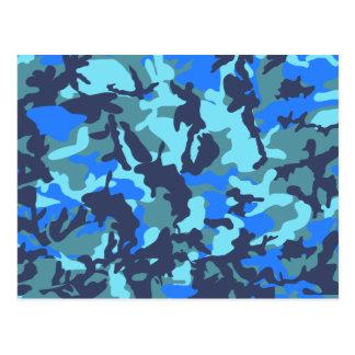 Blåttkamouflage Vykort
