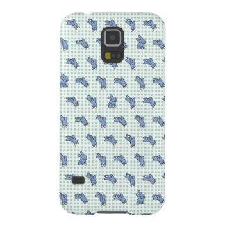 Blåttkaniner Galaxy S5 Fodral