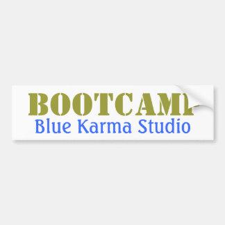 BlåttKarmaBootcamp bildekal