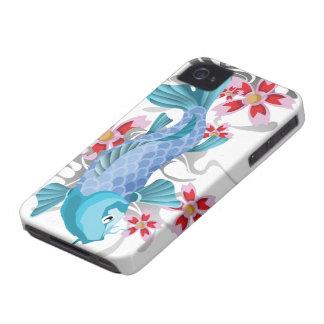 BlåttKoi fisk iPhone 4 Fodral