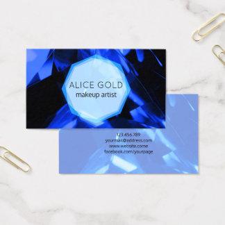 Blåttkristall Visitkort