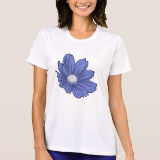 Blåttkulakvinna T-tröja för konkurrent för T-shirt